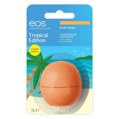 EOS Tropical Edition Exotic mango Smooth Sphere Lip Balm