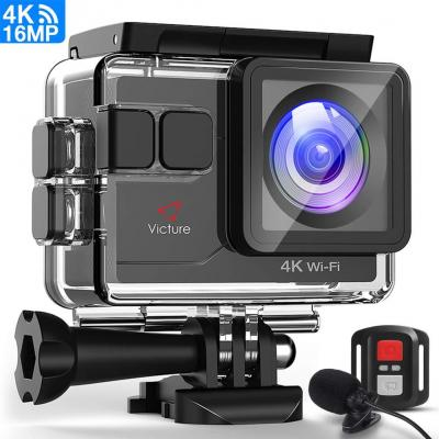 Victure Action Cam 4K Wi-Fi 16 MP