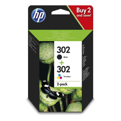 Hp 302 Combo Pack X4d37ae Cartucce
