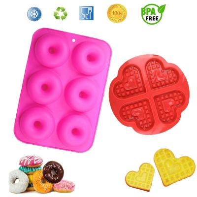 YIKEF Silicone Ciambelle Stampo